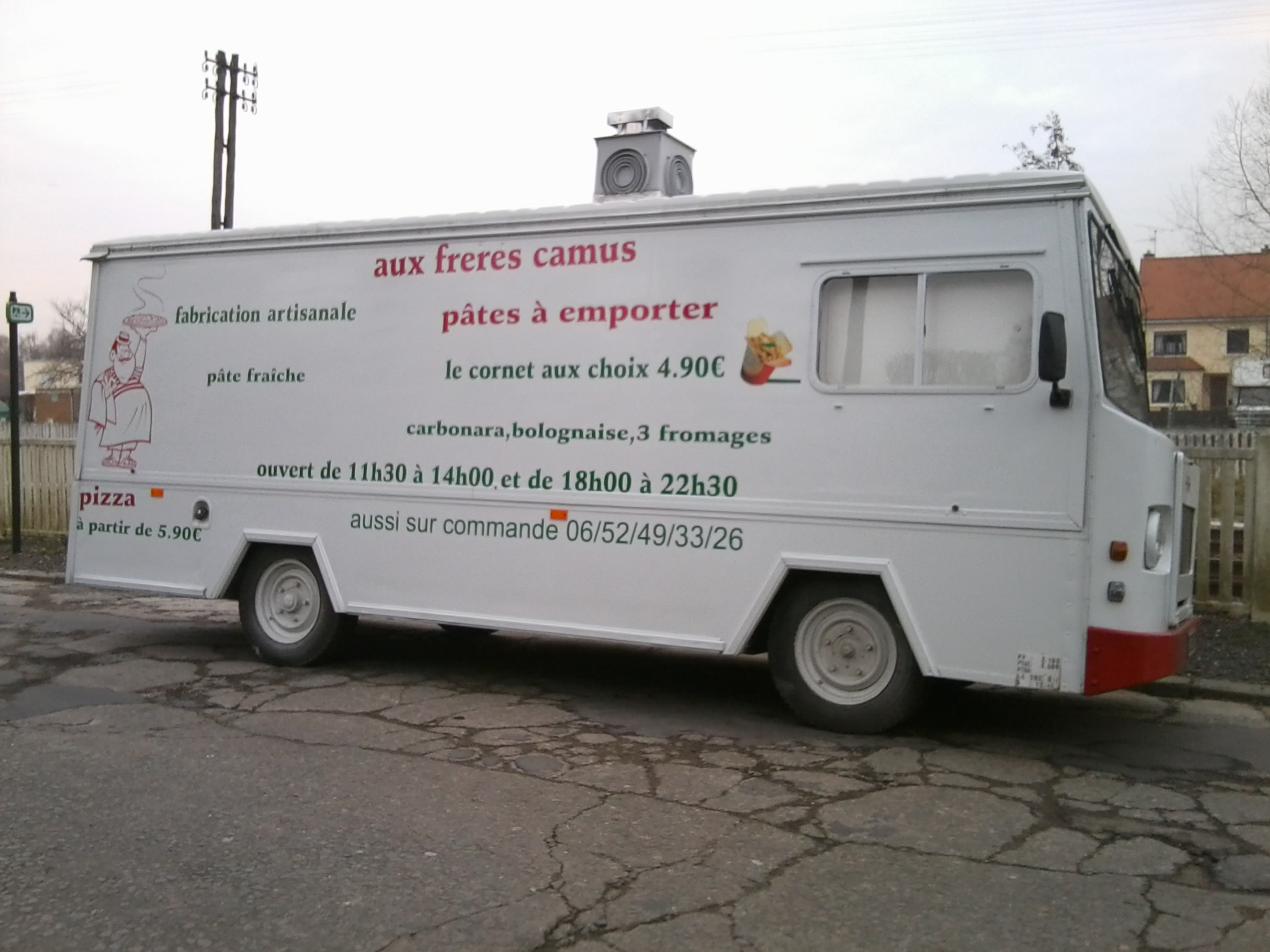 Pizza aux frères Camus - Marconnelle