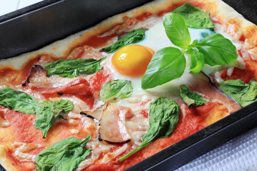 Pizza au poids