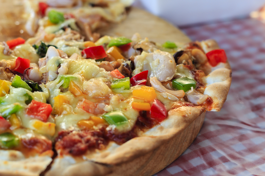 Pizza à l'américaine