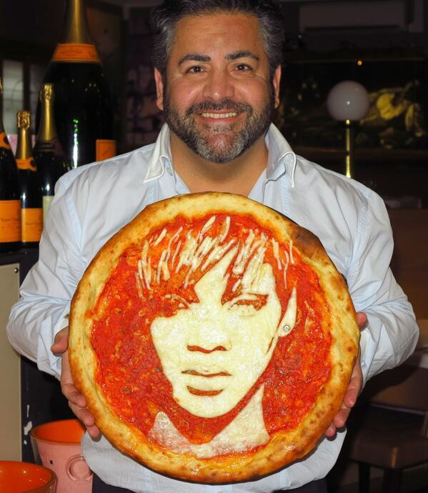 Des stars sur vos pizzas