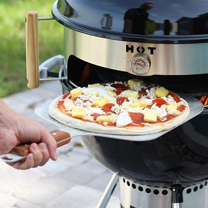 Cuire sa pizza au barbecue
