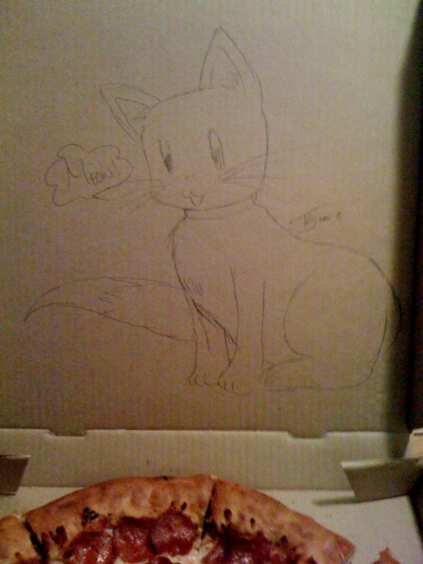 Pizza commande spéciale