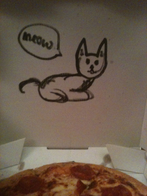 Pizza commadne spéciale