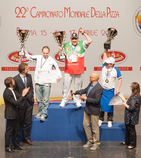 Palmarès Championnat du Monde de Pizza