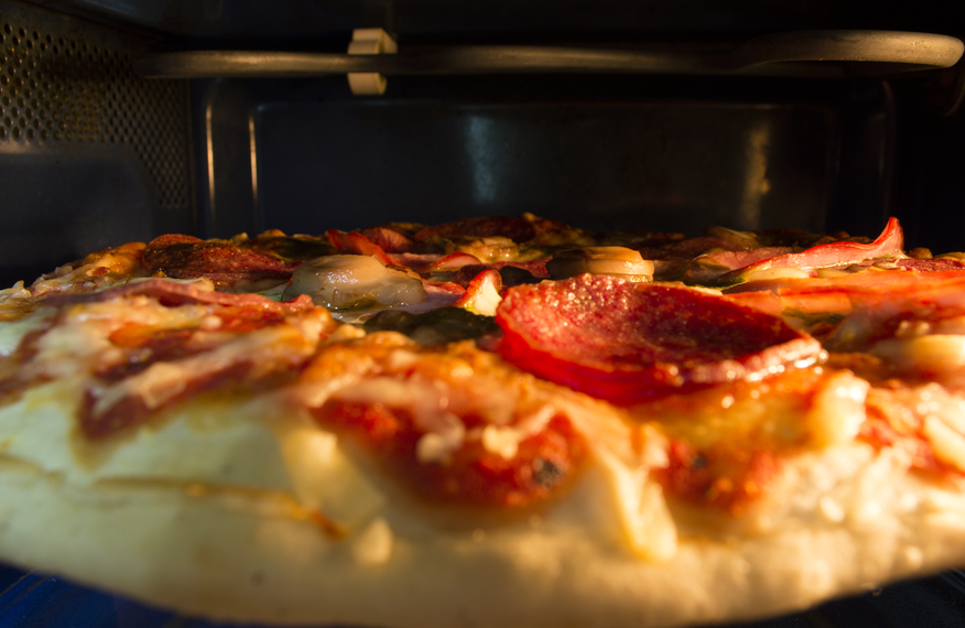 Pizza micro ondes