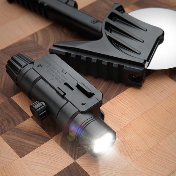 Roulette à pizza laser