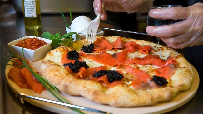 Pizza plus chère du monde