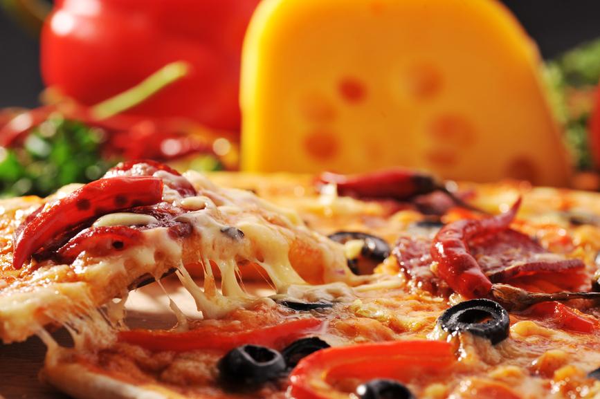 La pizza est un légumes aux USA
