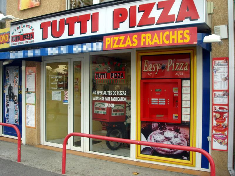 Distributeur pizzas