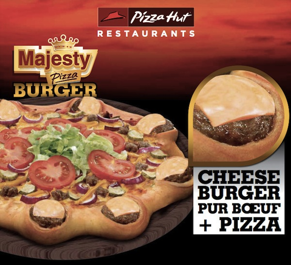 Majesty Pizza Burger