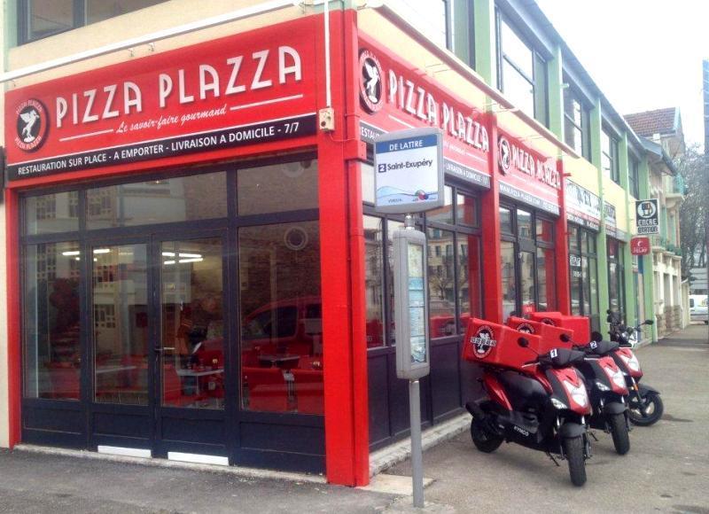Pizza plazza à Verdun