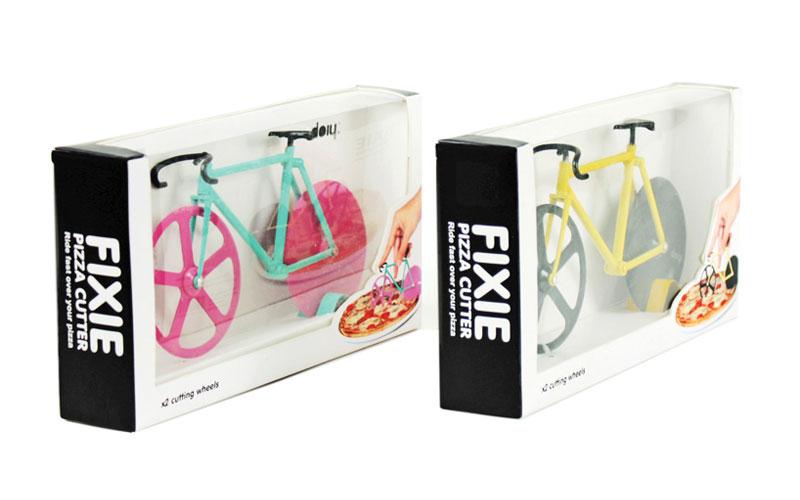 Roulette pizza vélo