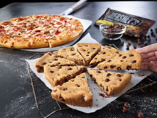 Pizza cookie Pizza Hut